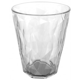 "Plastic Glass SAN Reusable ""Rox Ice"" Clear 340 ml (8 Units)"