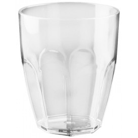 "Plastic Glass SAN Reusable ""Summer"" Clear 355ml (1 Unit)"