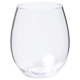 Plastic Glass TRITAN Reusable Clear 390ml (6 Units)
