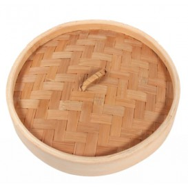 "Bamboo Lid for Steamer ""Maxi"" Ø30cm (4 Units)"