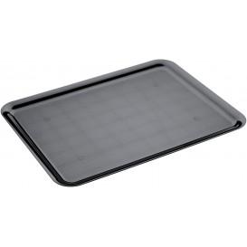 Plastic Tray Black 37x50cm (4 Units)