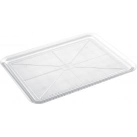 Plastic Tray Clear 37x50cm (4 Units)