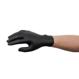 Nitrile Gloves Black Size M AQL 1.5 (1000 Units)