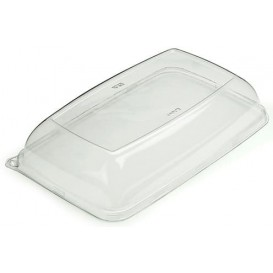 Plastic Lid for Tray 20x28x6 cm (50 Uds)