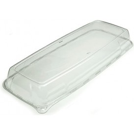 Plastic Lid for Tray 17x45x5 cm (5 Units)
