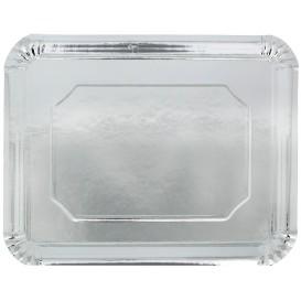 Paper Tray Rectangular shape Silver 34x42cm (50 Units)