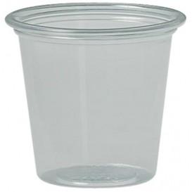 Plastic Souffle Cup PS Clear 37ml Ø4,8 cm (250 Units)