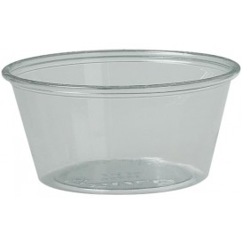 Plastic Souffle Cup PS Clear 100ml Ø7,3cm (250 Units)