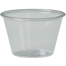 Plastic Souffle Cup PS Clear 120ml Ø7,3cm (250 Units)