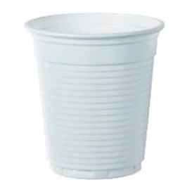 Plastic Cup PS Vending White 166ml Ø7,0cm (3000 Units)