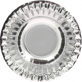"Paper Bowl ""Party"" Silver Ø16cm (6 Units)"