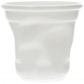 "Tasting Plastic Mini Cup PS ""Cabosse"" White 60ml (12 Units)"