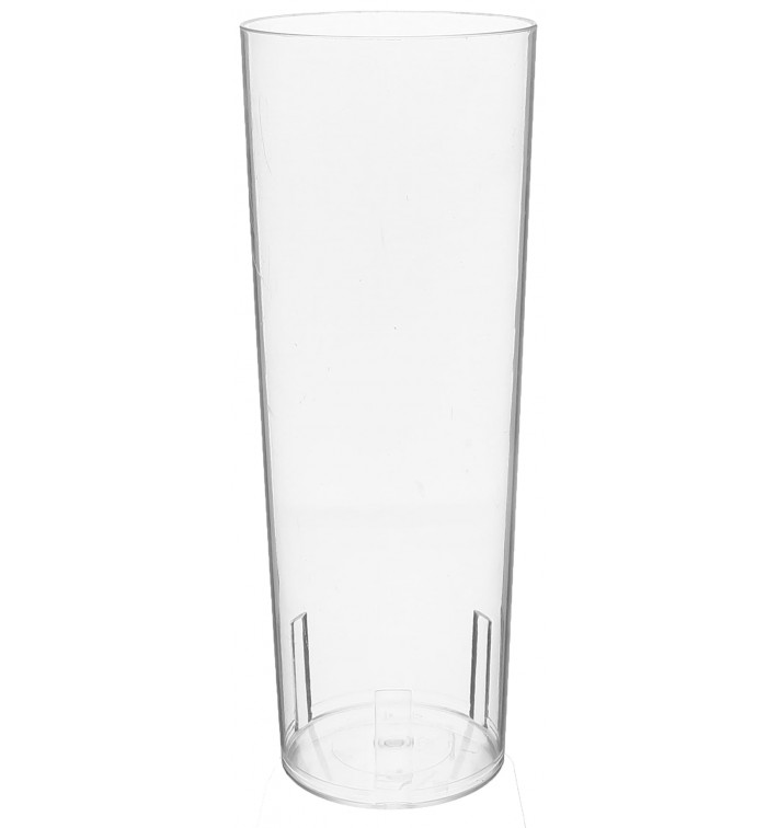 Plastic Collins Glass PS Crystal 330 ml (10 Units)