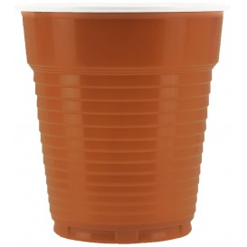 Plastic Cup PS Vending Two Tones 166ml Ø7,0cm (3000 Units)