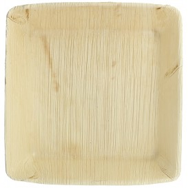 Palm Leaf Plate Deep Square Shape 16x16cm (100 Units)