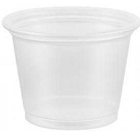 Plastic Souffle Cup PP Clear 30ml Ø4,8cm (125 Units)