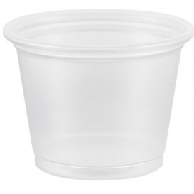 Plastic Souffle Cup PP Clear 30ml Ø4,8cm (2500 Units)