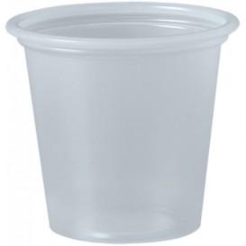 Plastic Souffle Cup PP Clear 35ml Ø4,8cm (250 Units)