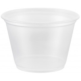 Plastic Souffle Cup PP Clear 75ml Ø6,6cm (125 Units)