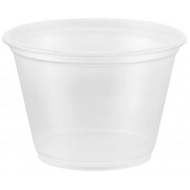 Plastic Souffle Cup PP Clear 75ml Ø6,6cm (2500 Units)