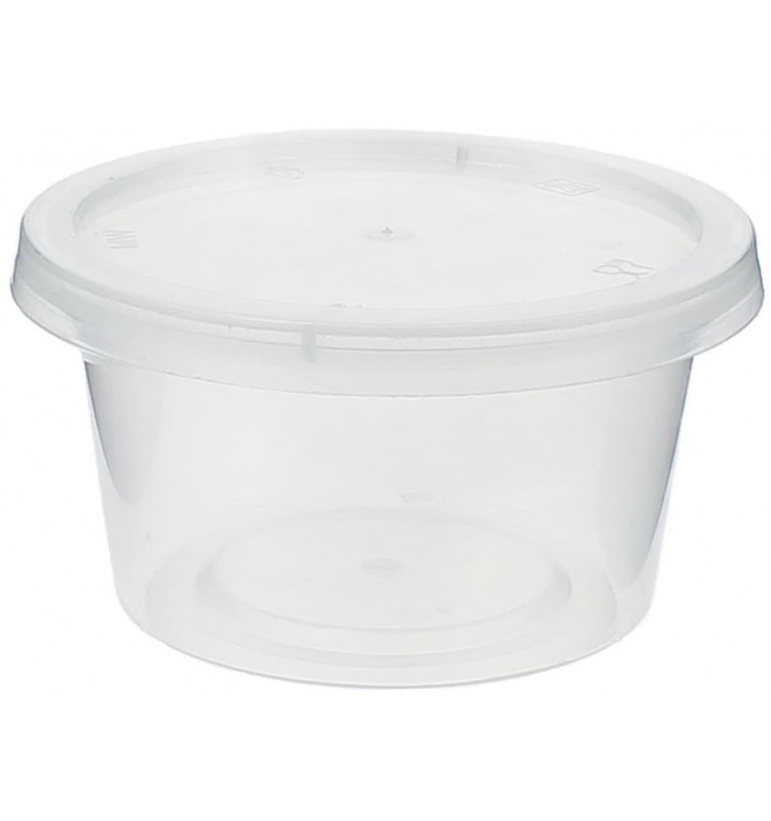 Plastic Souffle Cup with Lid PP 120ml (1000 Units)
