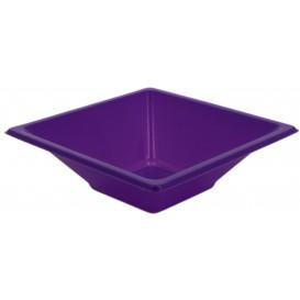 Plastic Bowl PS Square shape Lilac 12x12cm (1500 Units)