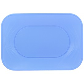 "Plastic Tray Microwavable ""X-Table"" Violet 33x23cm (2 Units)"