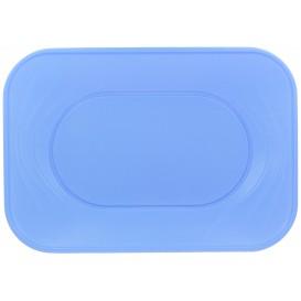 "Plastic Tray Microwavable ""X-Table"" Violet 33x23cm (60 Units)"