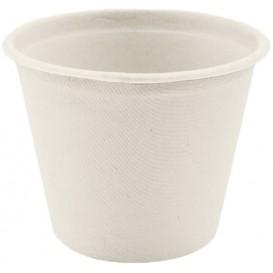 Sugarcane Container White Ø11cm 450ml (600 Units)