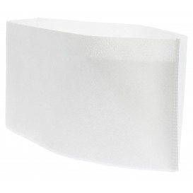 Disposable Chef Hat Pill Box White (100 Units)