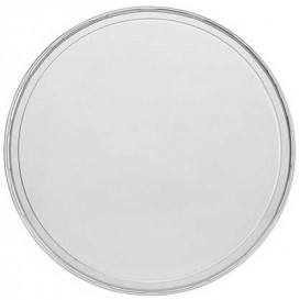 Plastic Lid for Deli Container PP Clear 350, 500 y 1000ml Ø11,5cm (50 Units)