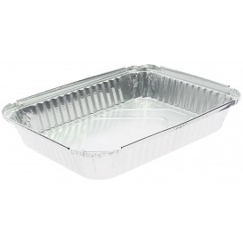 "Foil Pan ""12 Cannelloni"" 1180ml 24x18,8x3,5cm (100 Units)"