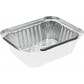 Foil Pan 475ml 14,6x12,1x4cm (100 Units)