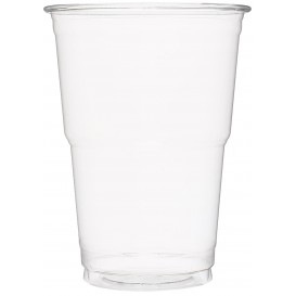 Plastic Cup PET Crystal Clear 490 ml (60 Units)