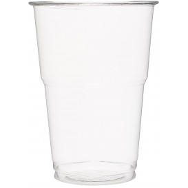 Plastic Cup PET Crystal Clear 350 ml (50 Units)