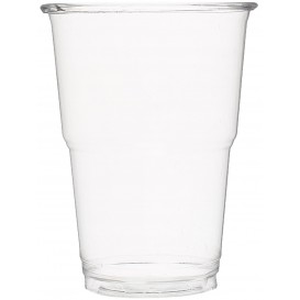 Plastic Cup PET Crystal Clear 250 ml (50 Units)