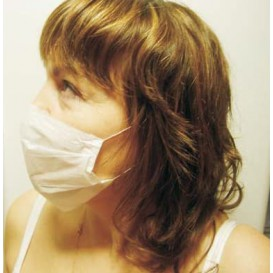 Disposable Paper Surgical Mask Simple 1 layer (100 Units)