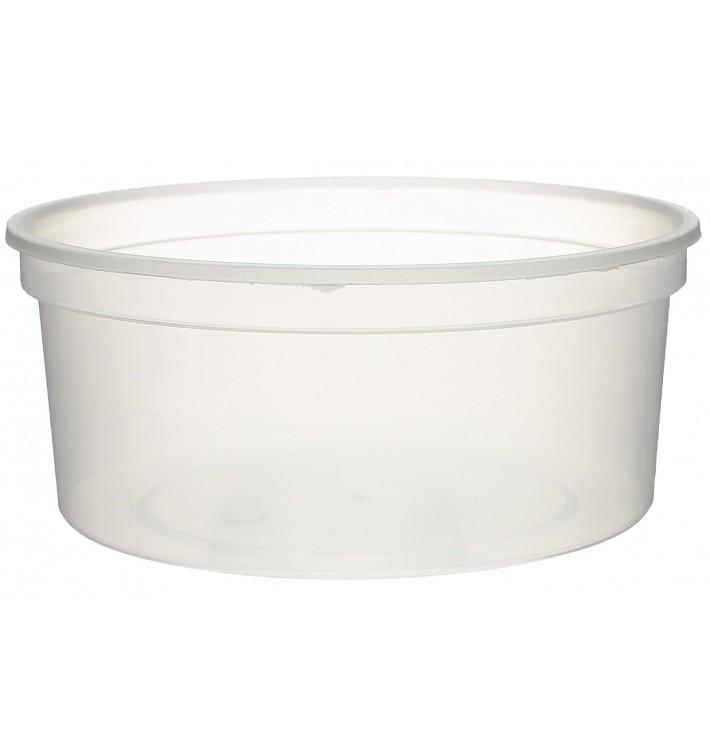 Plastic Deli Container Clear PP 350ml Ø11,5cm (500 Units)