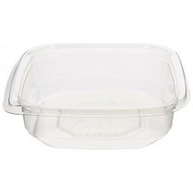 Plastic Deli Container PET Tamper-Evident 250ml 12x12x3cm (50 Units)