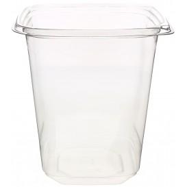 Plastic Deli Container PET Tamper-Evident 1000ml 12x12x13cm (500 Units)