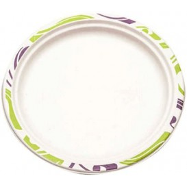 Paper Plate Wood Pulp Chinet Flavour 24 cm (100 Units)