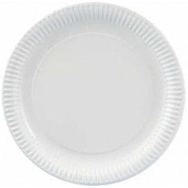 Paper Plate Round Shape White 27cm (400 Units)