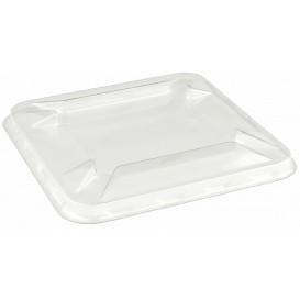 Plastic Lid for Mini-Bowl PET 9x9cm (50 Units)