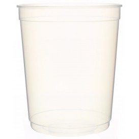 Plastic Deli Container PP Clear 1000 ml Ø11,5cm (50 Units)