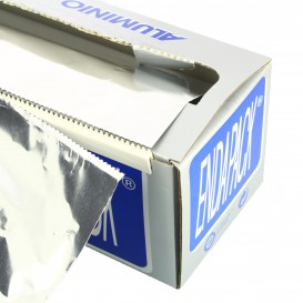 Aluminium Foil Wrap with Dispenser Box 40cmx300m 4Kg (6 Units)