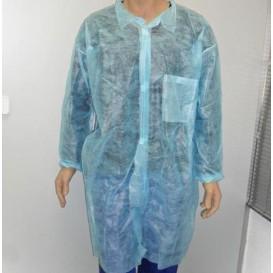 Disposable Lab Coat TST PP Velcro Pocket Blue XL (1 Unit)