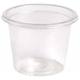 Plastic Souffle Cup rPET Crystal Clear 30ml Ø4,5cm (4000 Units)