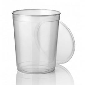 Plastic Deli Container PP Clear 1000 ml Ø11,5cm (250 Units)