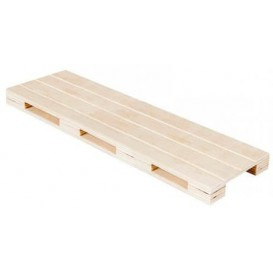 Wooden Mini Pallet Serving Platter 40x15x2cm (1 Unit)