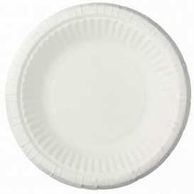 Paper Plate Deep White 19cm (50 Units)